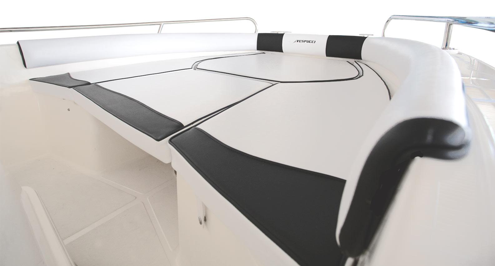 Cuscineria barca Vespucci
