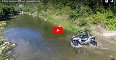 Video di escursione col Quod in maremma Toscana