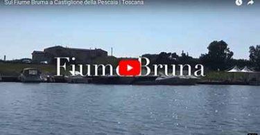 Fiume Bruna a Castiglione della Pescaia Toscana
