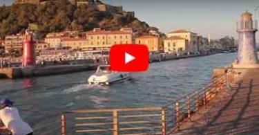 Ingresso al porto di Castiglione