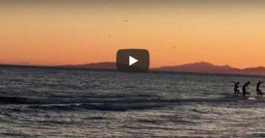 bagno al tramonto in toscana